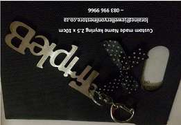 Keyring with your name - ideal for Father's Day