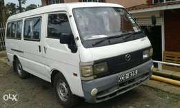 mazda Bongo. Very clean and low mileage. 14 seater large capacity.