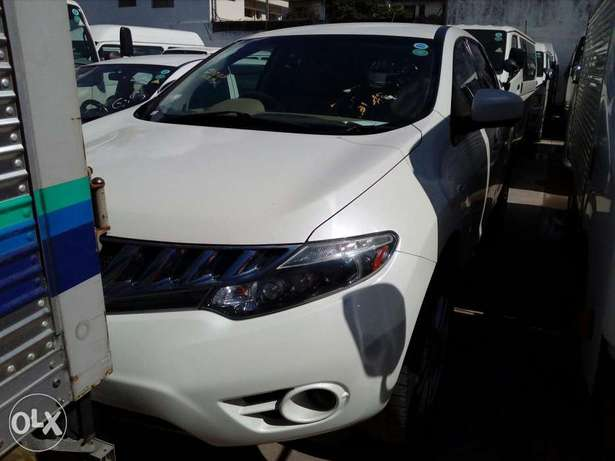Nissan murano new plate number fresh import exquisite white fully load Mombasa Island - image 1