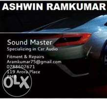 Get your car audio system professionally installed NOW... Pmb are