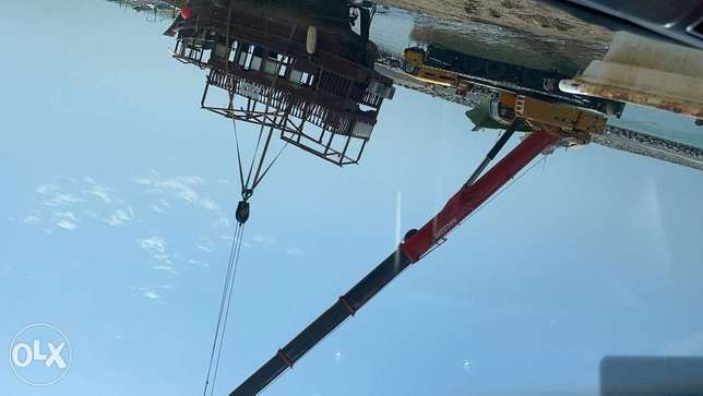 100,120,140,160,200,220 ton Crane Are Available For Rent