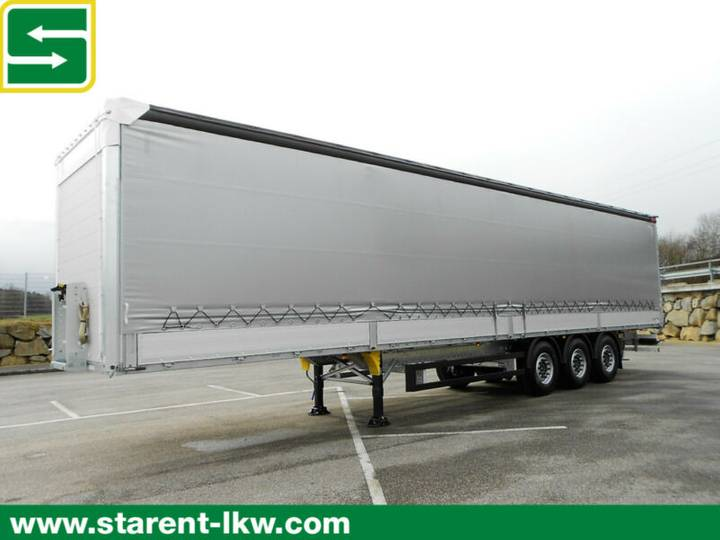 Schmitz Cargobull Bordwandtautliner, Liftachse, XL-Zertifikat, NEU - 2019
