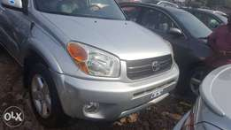 Tincan cleared tokunbo toyota rav4 05