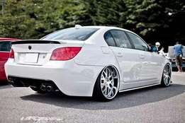 "Twin styler's 19"" BMW mags"