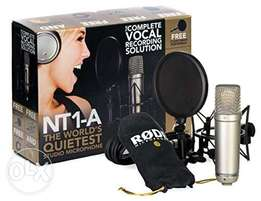 New Rode nt1a mic