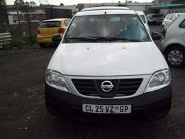 A Nissan Np200 bakkie, 2013 model, 54000km, white in color, factory a/
