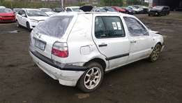 Golf 3 with papers stripping for spares