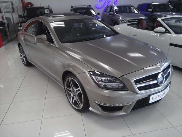 2012 Mercedes Benz CLS 63 AMG V8 Bi-Turbo Salt River - image 1