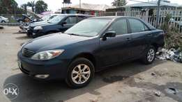 Blue Colored Nig Used Toyota Camry LE In Excellent Driving Condition.