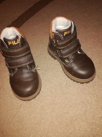 Buty chłopięce zimowe Fila rozmiar 21 Smołdzino Leśniczówka