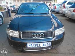 2005 Audi A4 Comfortline 1.8 Turbo with Sunroof For R80000