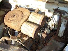 Fiat 1100D 1221cc engine, and other parts
