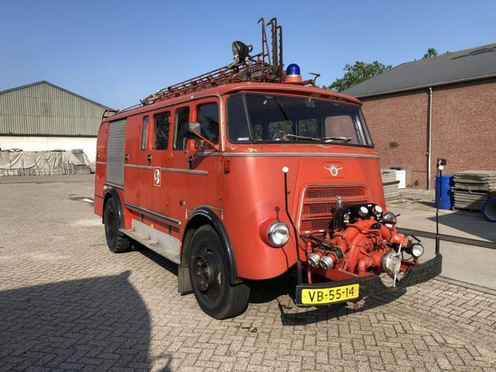 DAF 1600 - BRANDWEERWAGEN - ORIGINEEL NL - 1962