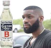 Original Castor Oil from Overseas for Beard and Hair Growth.