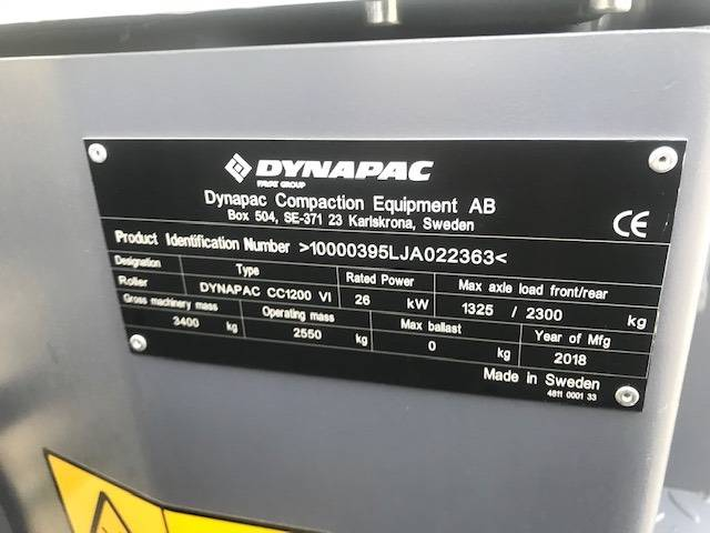 Dynapac Cc1200-vi - 2018 - image 7