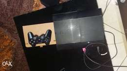 Sony playstation3 with 1 controller and 2 games
