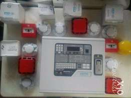 Brand New Addressable Fire Alarm Panel with accessories