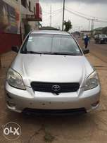 Super clean Nigeria used Toyota Matrix Sports 2006 model very perfect