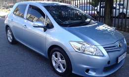 2012 Toyota Auris 1.6 for sale.