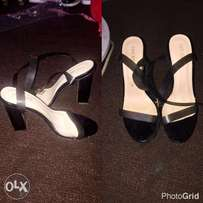 Beautiful sandal heels at an affordable price, contact for details.