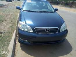 Direct Tokunbo Toyota Corolla Sport 2004 Blue