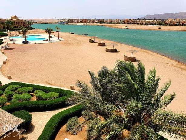 rent 3 BR house in el gouna