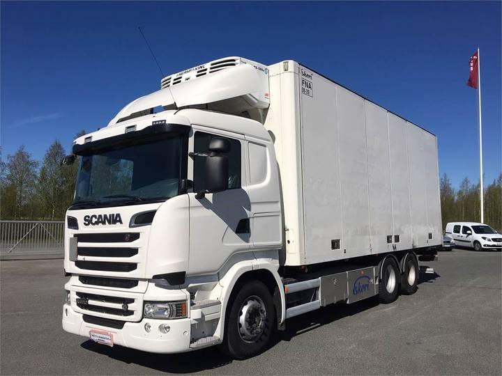 Scania R520 Kokosivunaukeva Fna - 2015
