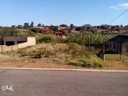 450 square meter stand for sale in block M, Soshanguve