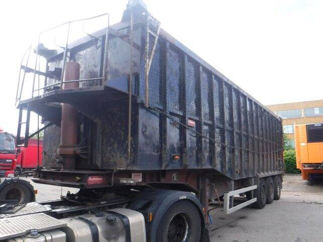 steel tipper tipper semi-trailer for sale by auction - 2010