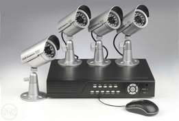 4 channel professional CCTV system