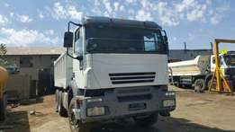 Iveco Stralis 10Cube tipper truck now on bargain