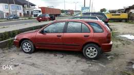 First body Nissan Almera with sound engine and gear box, kick and Go