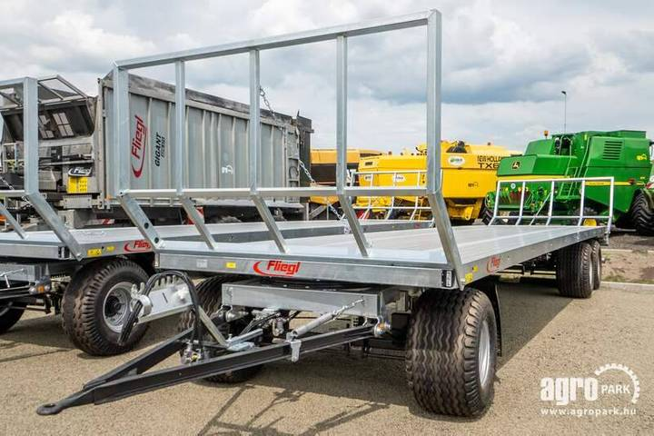 Fliegl New Dpw 180, Three-axle Bale Trailer, 500 Wide Tir - 2019