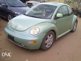 Clean Volkswagen beetle 2002 for sale