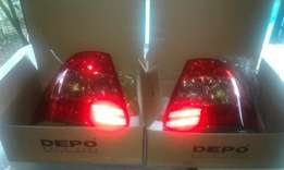 Toyota carolla 1,6 gls 2005 new tail lights for sale