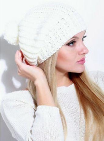 Шапка осень-зима белая  80 грн. - Головні убори Харків на Olx 3d484f021d0e9