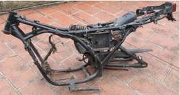 Wanted : Yamaha rd350lc frame with papers