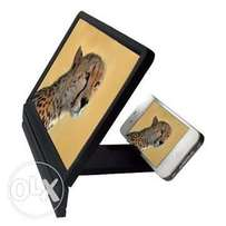 Universal 3D Glass Screen Enlarger For Mobiles & Tablets