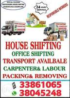 We provide boxes House shifting
