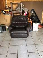 Genuine Leaher Recliner