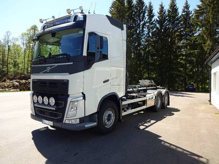 Volvo Fh 4 2014 Euro6 Obs Miltal 4939 Fh4 540 6x2*4 Came - 2014