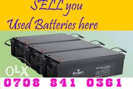 Used solar Batteries Port harcourt