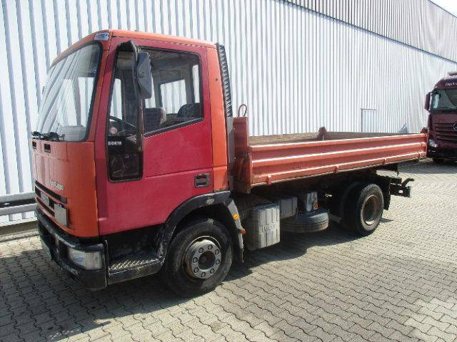 Iveco 80 E15 4x2 80E15 4x2 Kipper Doppelsitzbank - 1992