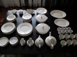 Wood & Sons Ironstone Dinner Set Made in England Rare Find