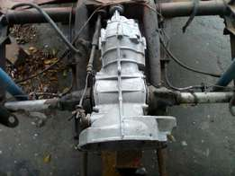 VW Beetle gearbox and chassis
