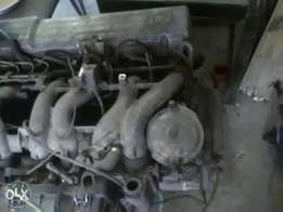 Benz disel engine