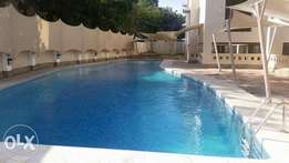 Modern spacious 3 bedroom apartment with swimming pool