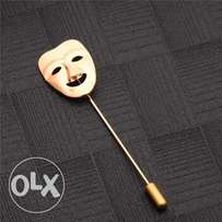 Hyde Men Fashion Mask Brooches