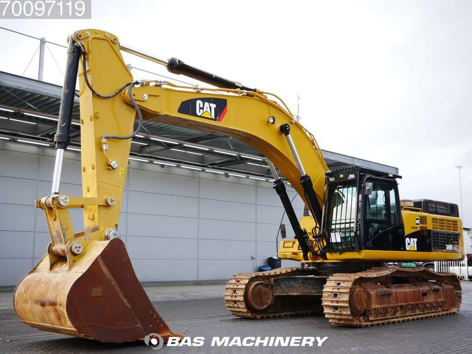 Caterpillar 349D LME Hammer line - CAT Bucket - 2014