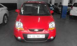 Chevrolet spark 1.3 red in color 2011 model hatshback 98000km